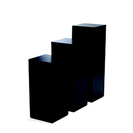 Display Pedestal 42″ Black 14″ Sq.