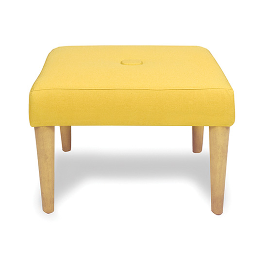 Madison Sunflower Ottoman